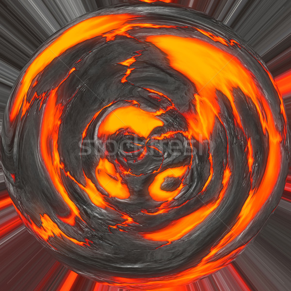 magma planet Stock photo © clearviewstock