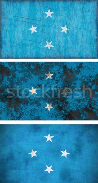 フラグ ミクロネシア 画像 背景 汚い ストックフォト © clearviewstock