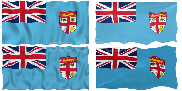 Bandiera Fiji immagine Foto d'archivio © clearviewstock