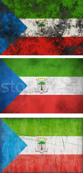 Bandeira Guiné Equatorial imagem Foto stock © clearviewstock