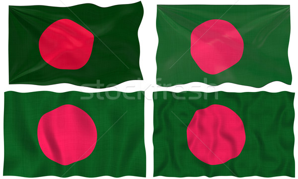 Bandeira Bangladesh imagem Foto stock © clearviewstock