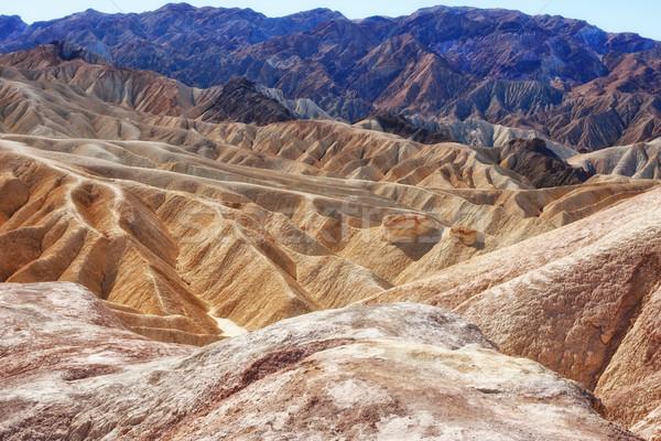 Morte vale ponto paisagem natureza deserto Foto stock © clearviewstock