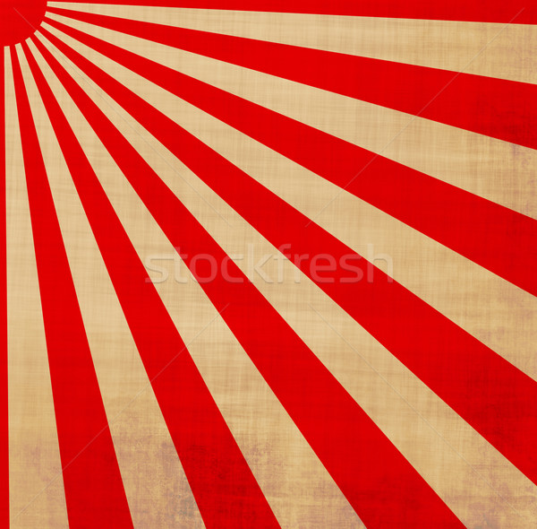 japansese rising sun Stock photo © clearviewstock