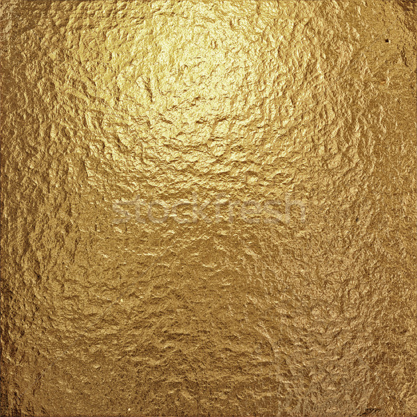 fine crinkled gold aluminium foil Stock photo © clearviewstock
