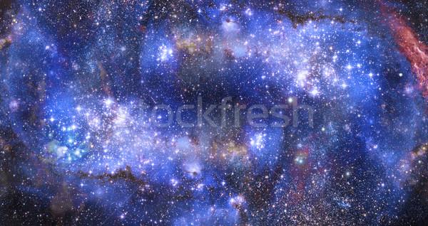 Csillagköd benzin felhő mély világűr illusztráció Stock fotó © clearviewstock