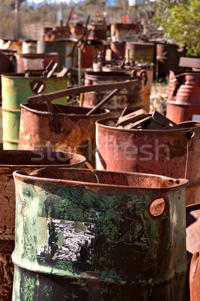 old barrels Stock photo © clearviewstock