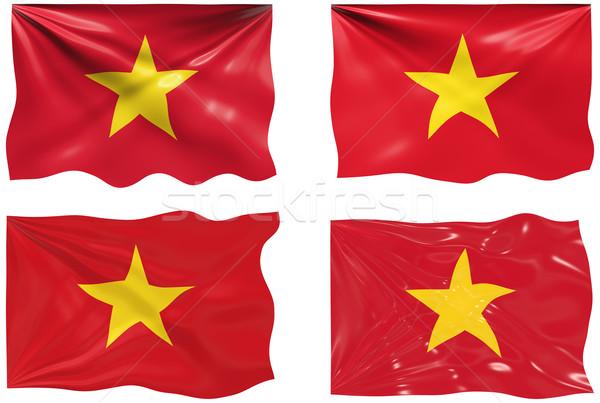 Pavillon Viêt-Nam magnifique image Photo stock © clearviewstock