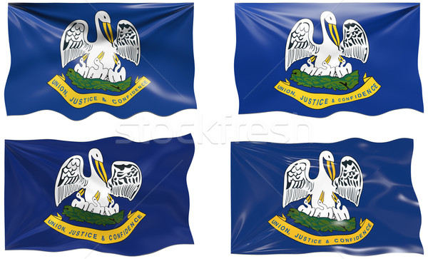 Flag of Louisiana Stock photo © clearviewstock