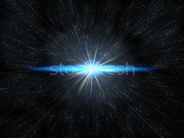 Star migotać tle przestrzeni gwiazdki Zdjęcia stock © clearviewstock