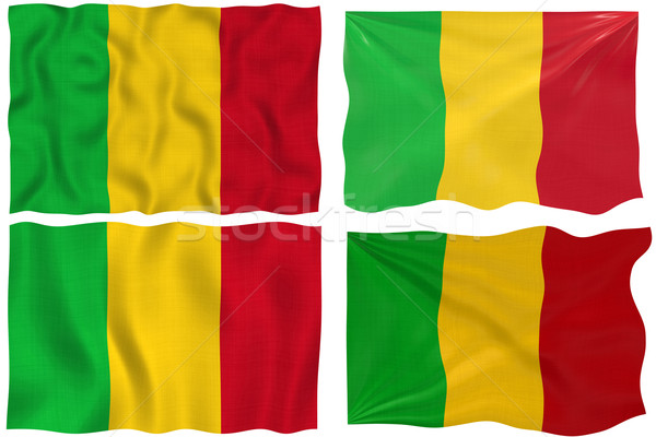 Flag of Mali Stock photo © clearviewstock