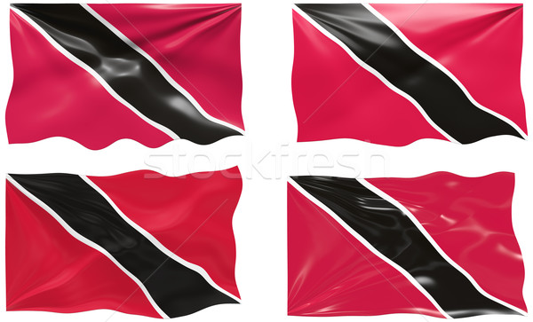 Flag of Trinidad, Tobago Stock photo © clearviewstock