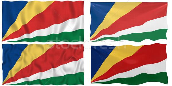флаг Сейшельские острова изображение Сток-фото © clearviewstock