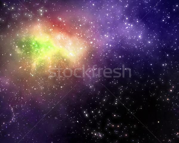 Csillagos mély világűr csillagok terv háttér Stock fotó © clearviewstock