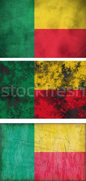 Bandiera Benin immagine Foto d'archivio © clearviewstock