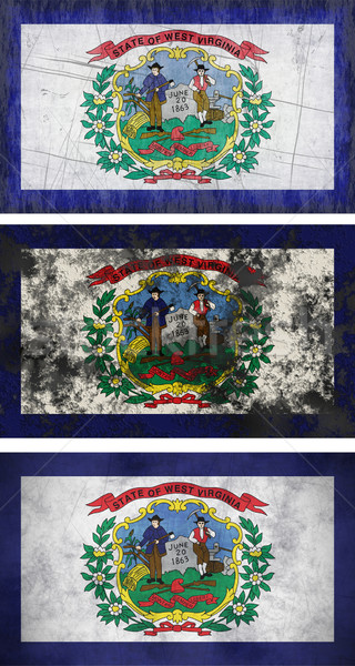 Flag of West Virginia Stock photo © clearviewstock