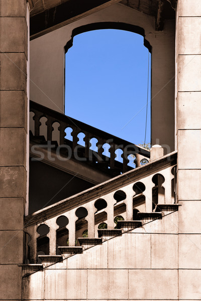 moorish architecture in malaysia Stock photo © clearviewstock