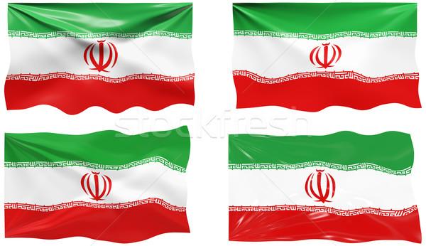 フラグ イラン 画像 ストックフォト © clearviewstock