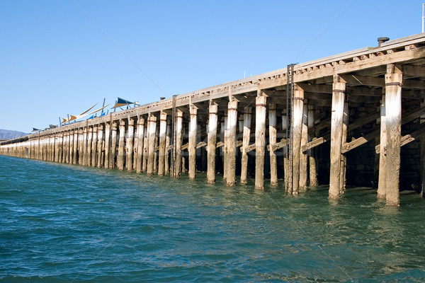 wharf at port augusta Stock photo © clearviewstock