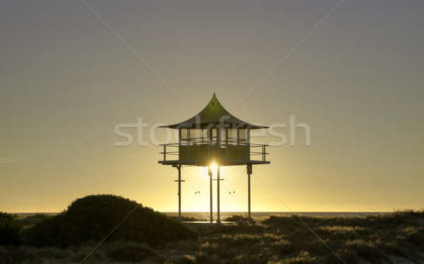 surf life savers lookout sunset Stock photo © clearviewstock