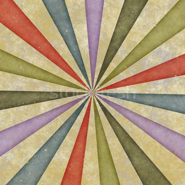 Sixties stijl swirl vroeg zeventig Stockfoto © clearviewstock