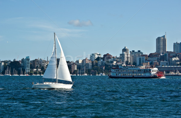 sail away Stock photo © clearviewstock