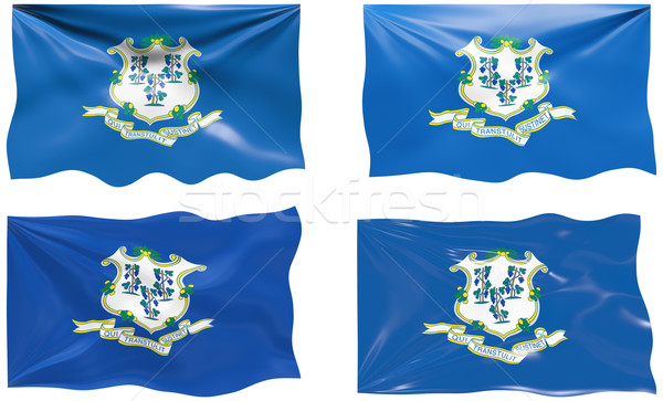 Flag of Connecticut Stock photo © clearviewstock