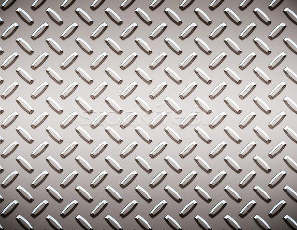 alloy diamond plate metal Stock photo © clearviewstock