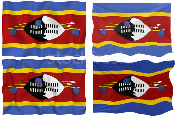 Flag of Swaziland Stock photo © clearviewstock