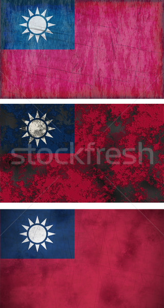 Flag of Taiwan Stock photo © clearviewstock