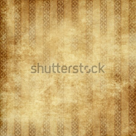 old yellow brown vintage parchment paper texture Stock photo © clearviewstock