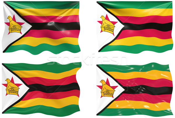 Flag of Zimbabwe Stock photo © clearviewstock