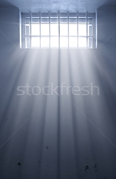 cold prison cell with sunshine through window Stock photo © clearviewstock