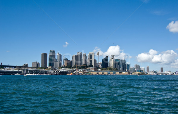 Sydney paisaje urbano imagen mar viaje Foto stock © clearviewstock