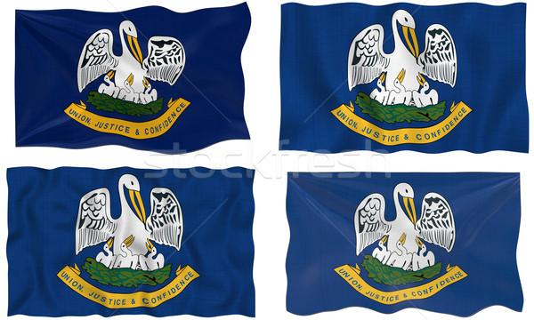 Bandiera Louisiana immagine Foto d'archivio © clearviewstock