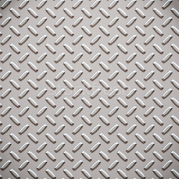 alloy diamond plate metal Stock photo © clearviewstock