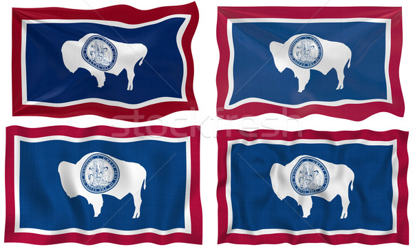 Flag of Wyoming Stock photo © clearviewstock