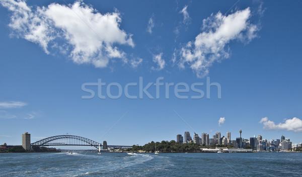 Sydney paisaje urbano ciudad puerto puente Foto stock © clearviewstock