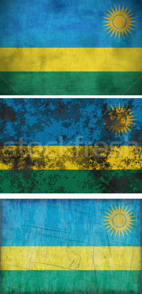 флаг Руанда изображение Сток-фото © clearviewstock