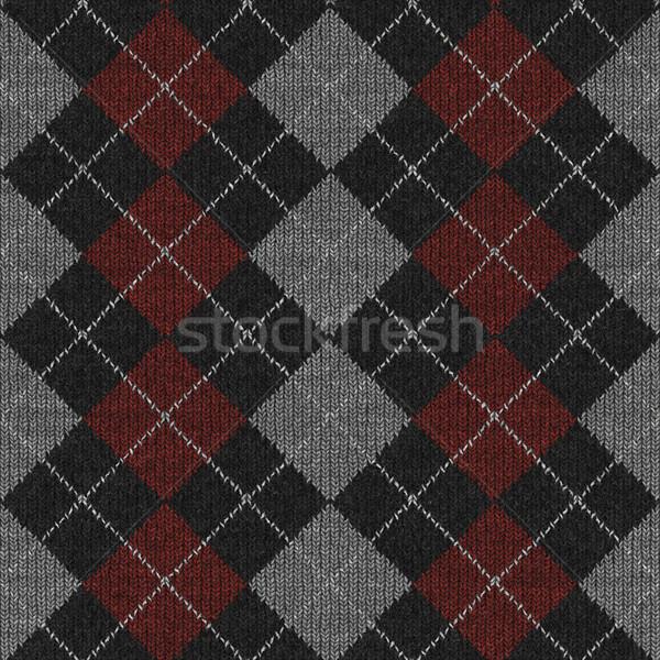 Laine magnifique image tricoté texture fond Photo stock © clearviewstock