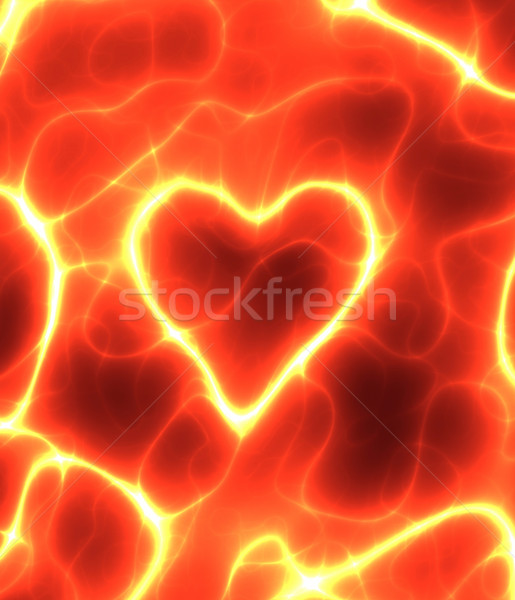 power heart Stock photo © clearviewstock
