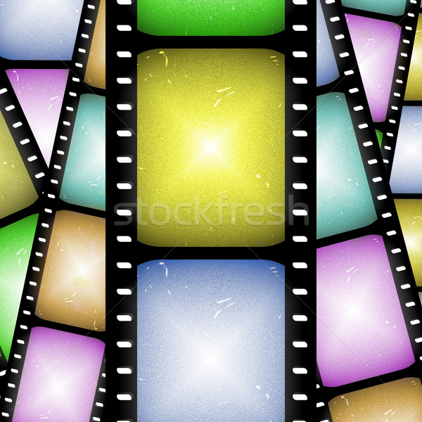 abstract filmstrip Stock photo © clearviewstock