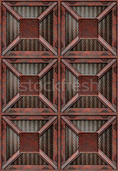 rusting crates Stock photo © clearviewstock