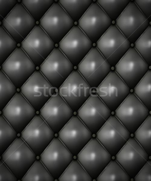 Skóry tapicerka obraz tle krzesło Zdjęcia stock © clearviewstock