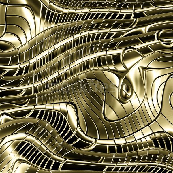 Resumen oro metal imagen Foto stock © clearviewstock