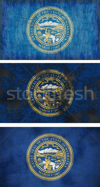 Flag of Nebraska Stock photo © clearviewstock