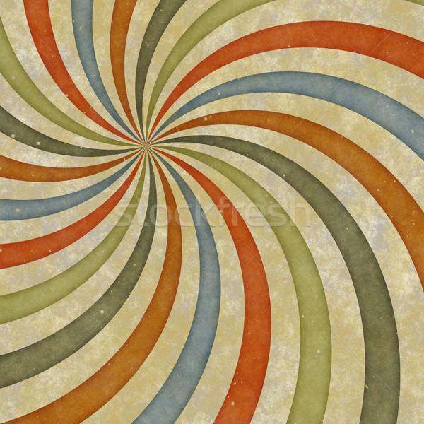 60年代 スタイル 渦 早い 70年代 ストックフォト © clearviewstock