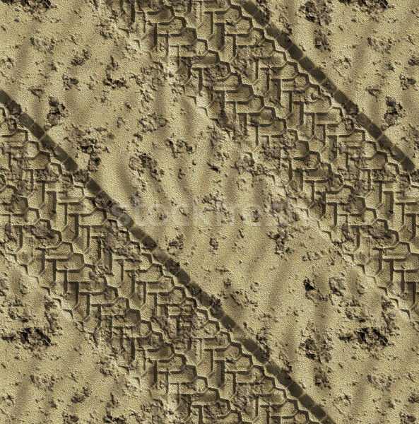sand tracks Stock photo © clearviewstock