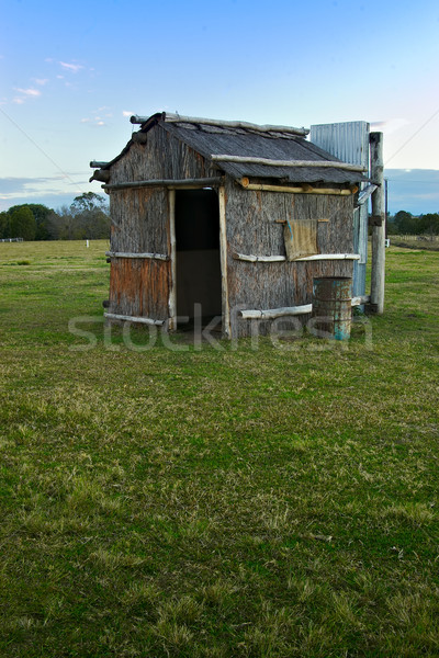 Bush hut Stock photo © clearviewstock