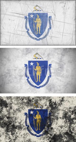 флаг Массачусетс изображение фон Vintage Сток-фото © clearviewstock