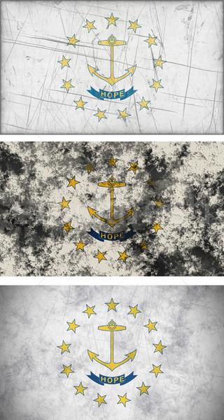 Bandeira Rhode Island imagem fundo tecido Foto stock © clearviewstock